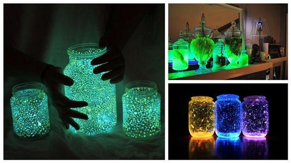 dieses leuchtenden und gl nzenden glas ist spielend leicht selber zu machen. Black Bedroom Furniture Sets. Home Design Ideas