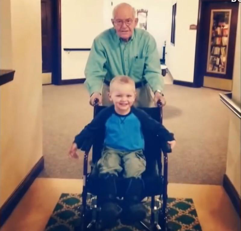 Der 4-Jährige Hat Seinem 90-jährigen Besten Freund Etwas