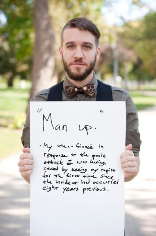 30 verstörende Sätze von Vergewaltigern an ihre Opfer.