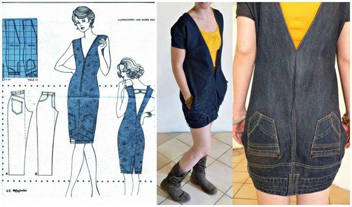 9 ideen alte jeans weiterzuverwenden. Black Bedroom Furniture Sets. Home Design Ideas