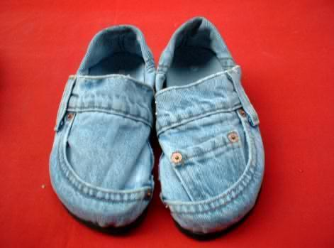 basteln mit alten jeans