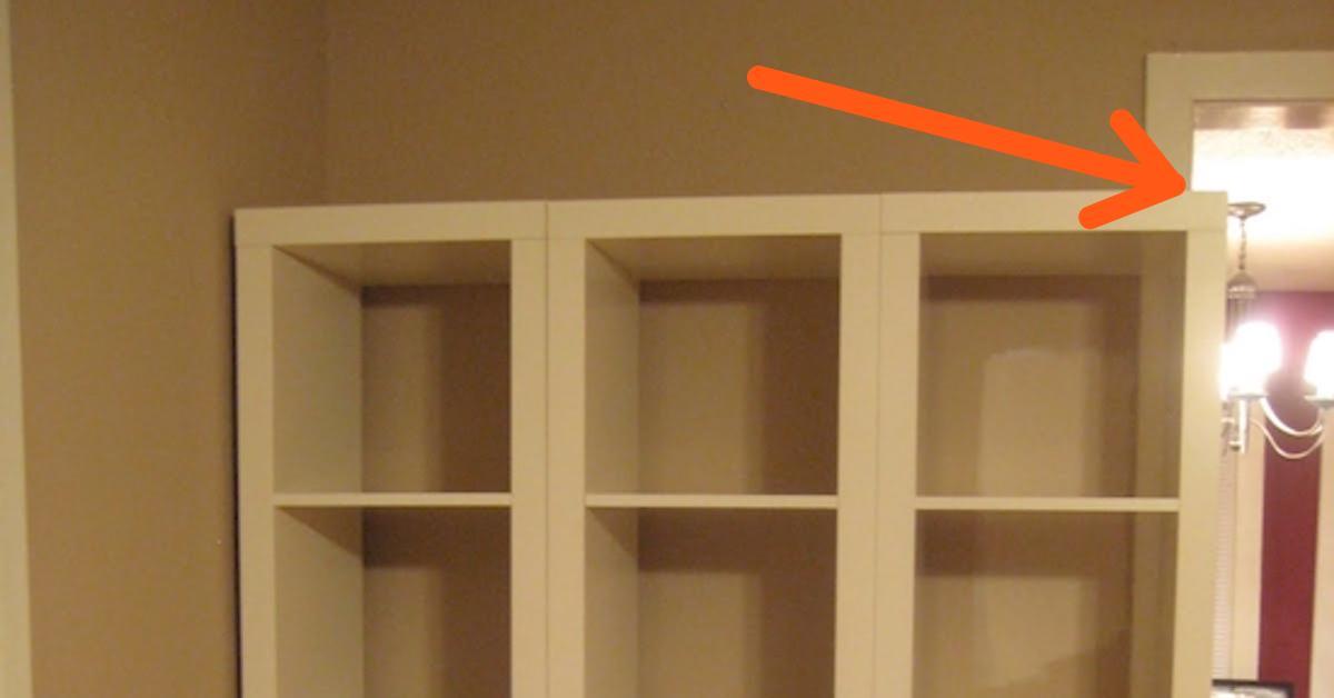 Toller IKEA-Trick mit Kallax-Regal kostet keine 10 Euro.