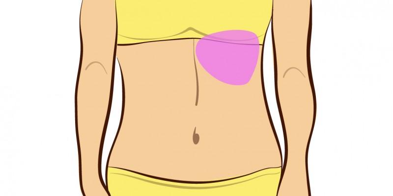 La localizzazione del dolore addominale ne indica anche la for Dolore schiena lato destro alto