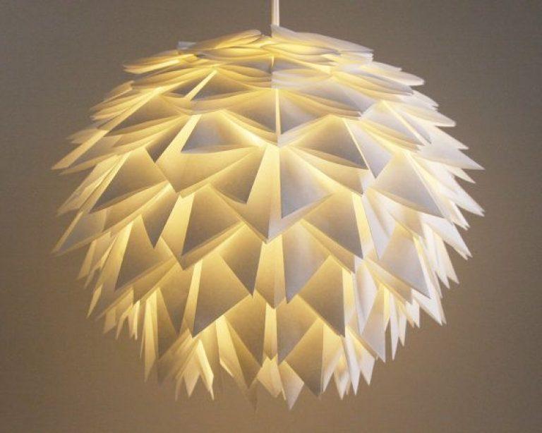 Design-Wunder Aus Papier: Diese 25 Leuchten Sind Gebastelt