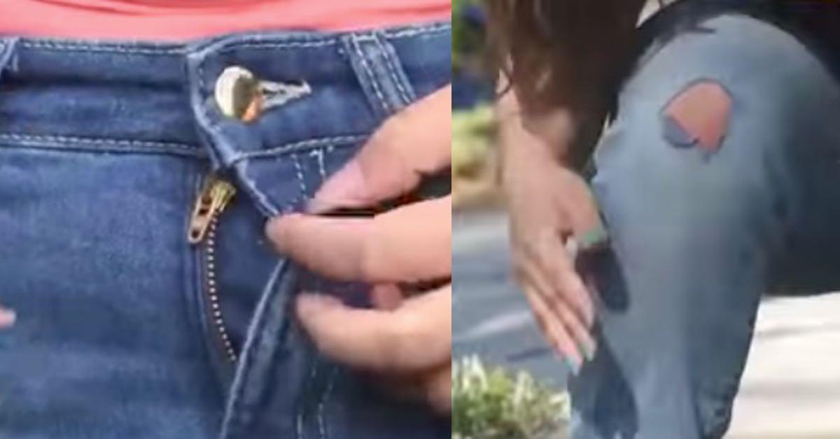 970d97d1a01a Nicht wegschmeißen  7 Tricks, deine kaputte Jeans zu retten.