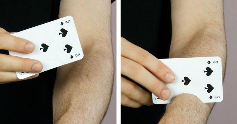 Zaubertrick Karte Erraten