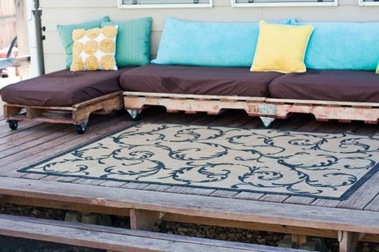 Fußboden Aus Alten Paletten ~ 60 geniale und wundervolle heim ideen aus euro paletten.