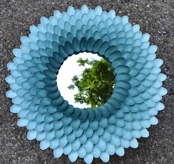 Upcycling Von Plastikloffeln Diy Bastelideen Aus Besteck
