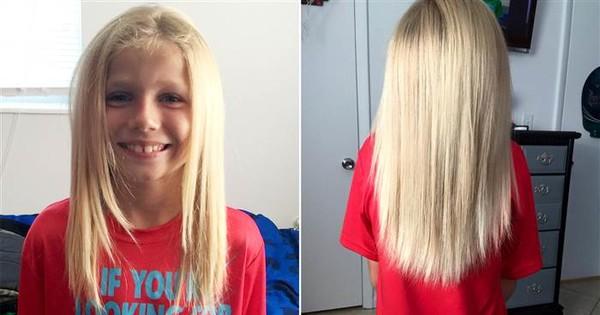 Rührend: 6-Jähriger spendet seine Haare für einen guten Zweck.