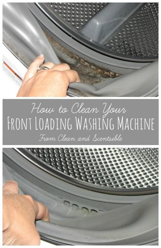 Waschmaschine ganz einfach reinigen.