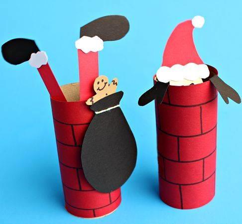 Weihnachtsbasteln Mit Toilettenpapierrollen.Upcycling Zum Fest Weihnachtsdeko Aus Toilettenpapierrollen