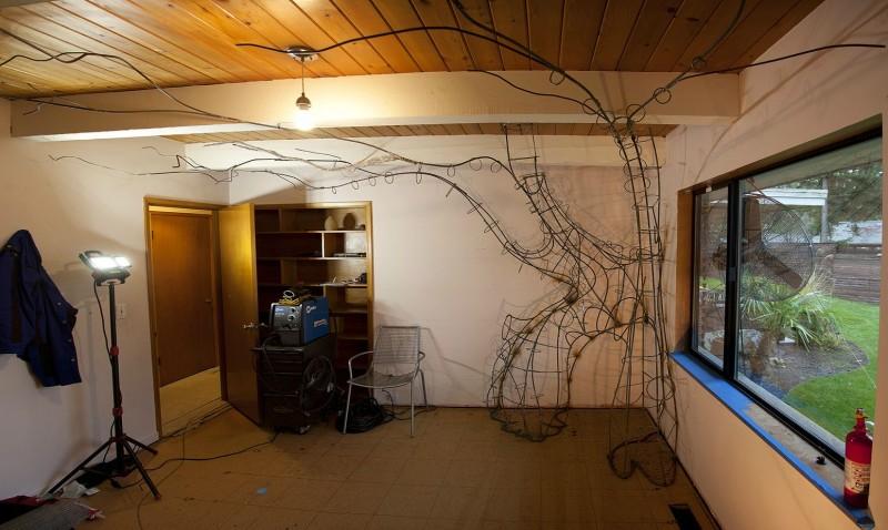 DIY: Talentierter Vater baut Traum-Kinderzimmer für seine Tochter.