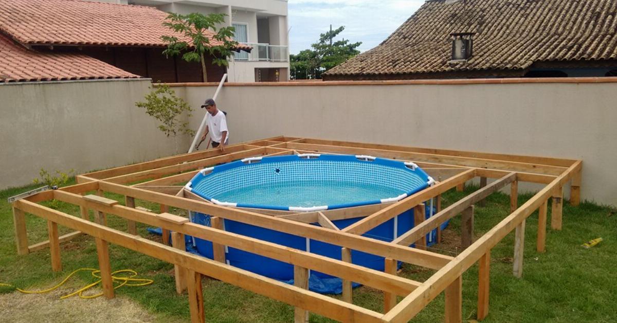 brasilianer baut sich kosteng nstigen pool im garten. Black Bedroom Furniture Sets. Home Design Ideas