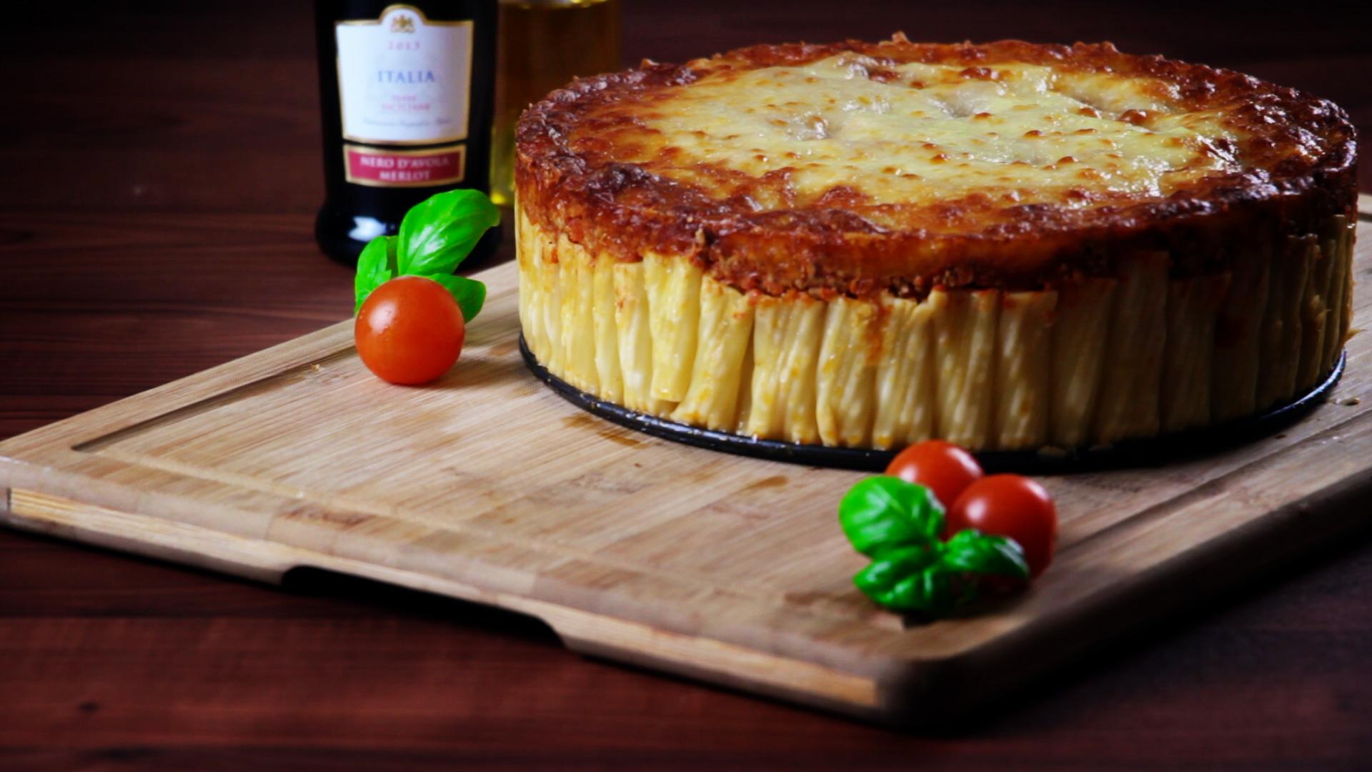 Pasta Kuchen Mit Bolognese Ein Nudel Rezept Fur Ordnungsfanatiker