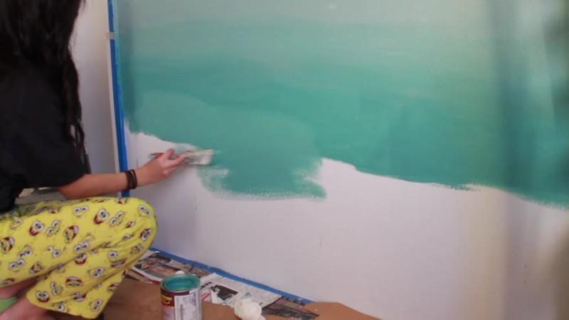 Mega-Trend Ombré: Fließender Farbverlauf für die eigenen Wände.