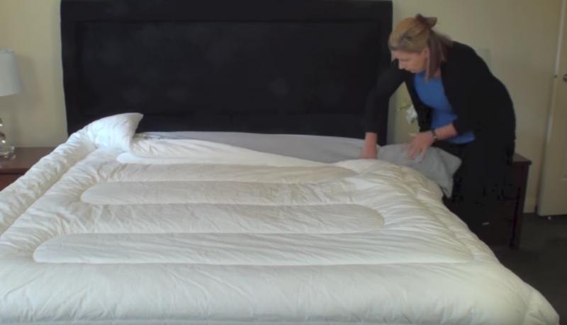 Betten Mit Rollmops Trick Schneller Beziehen