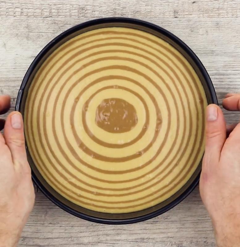Ein Kuchen Wie Ein Zebra Kinderriegel Torte Im Streifenlook