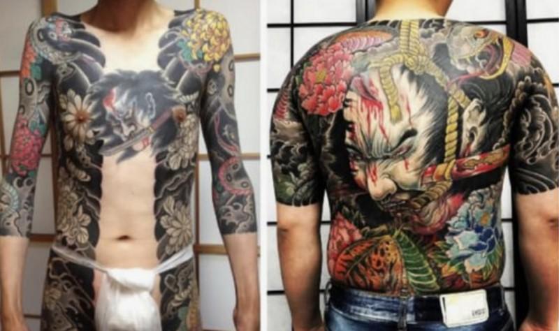 Die Riesigen Tattoos Der Japanischen Mafia Haben Tiefgreifende