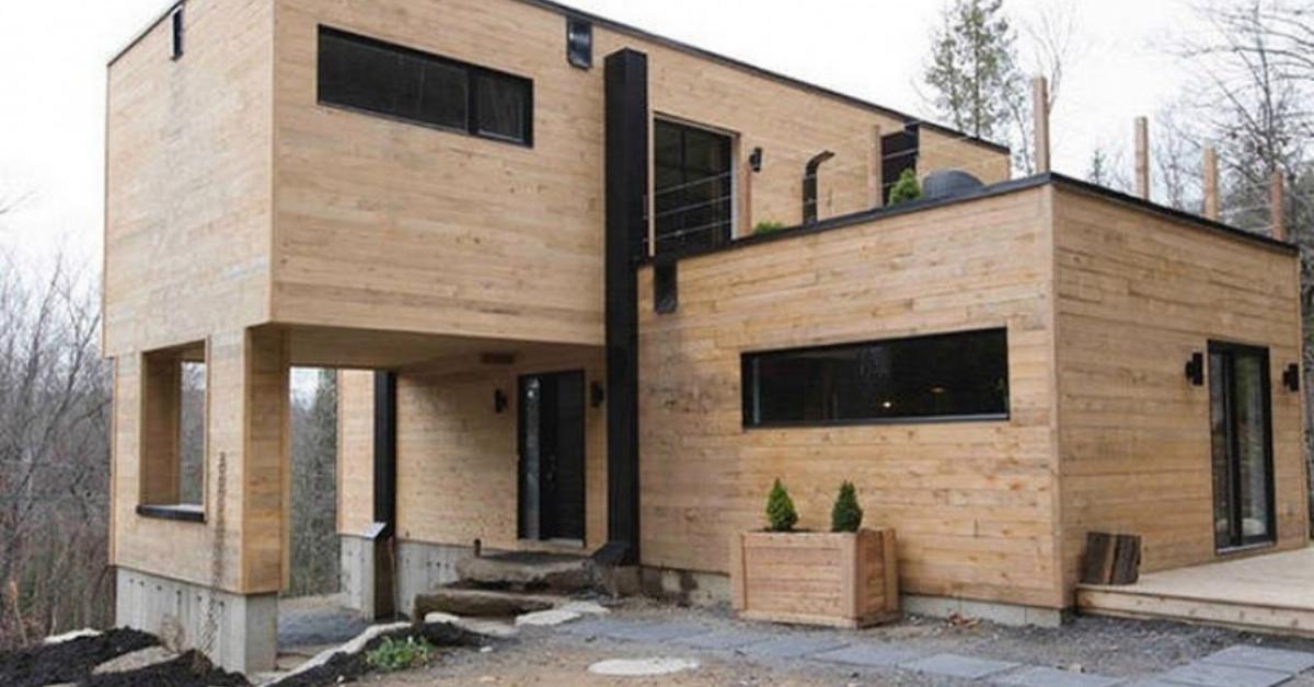 """Seecontainer Ausbauen architektin baut """"tiny house"""" aus alten containern."""