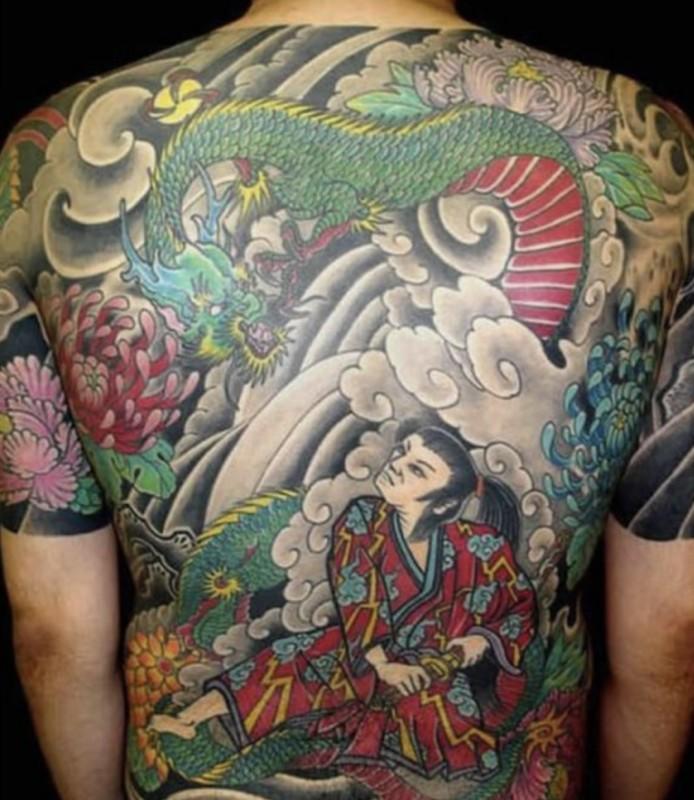 Tattoo bedeutung drachen Drachen Tattoo
