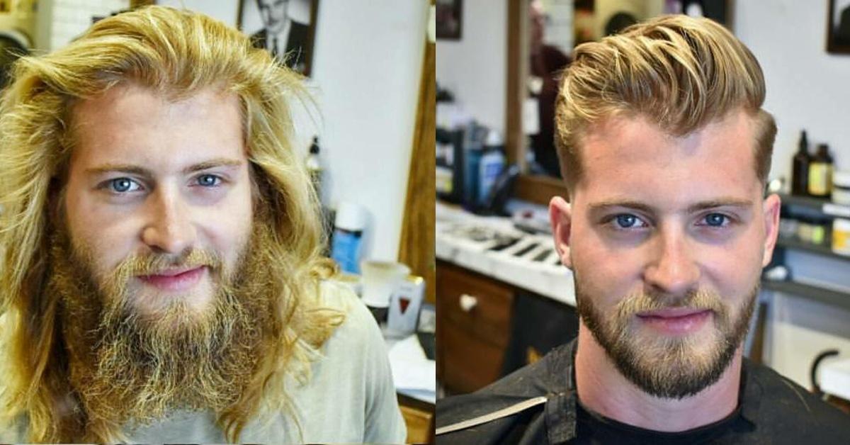 16 Männer Die Nach Jahren Wieder Zum Friseur Gegangen Sind