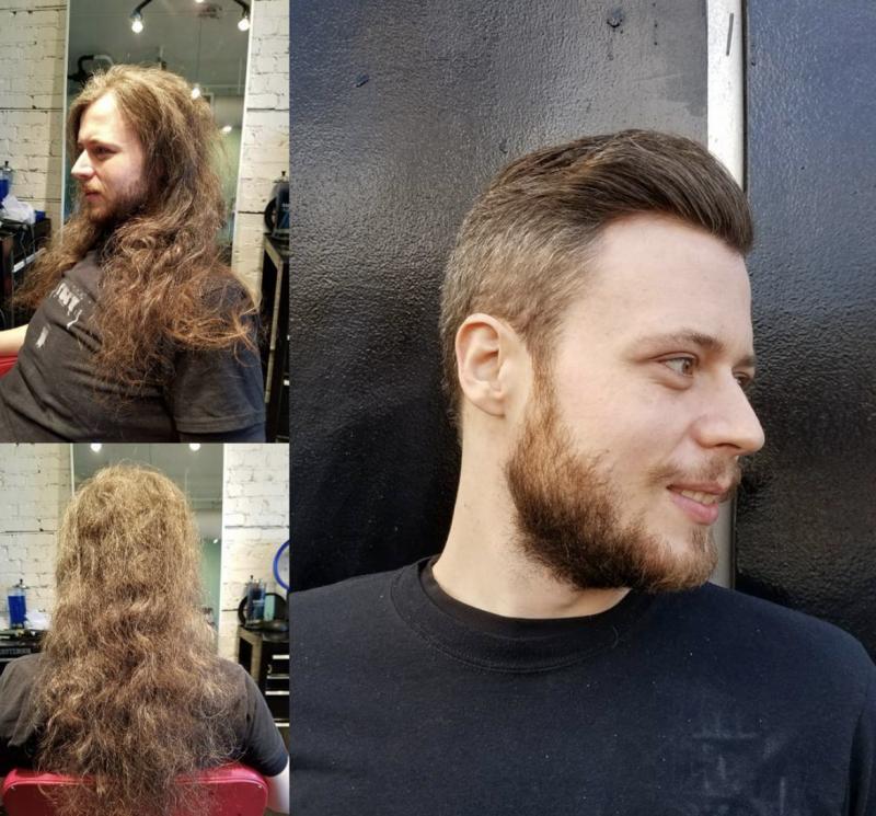 16 Manner Die Nach Jahren Wieder Zum Friseur Gegangen Sind