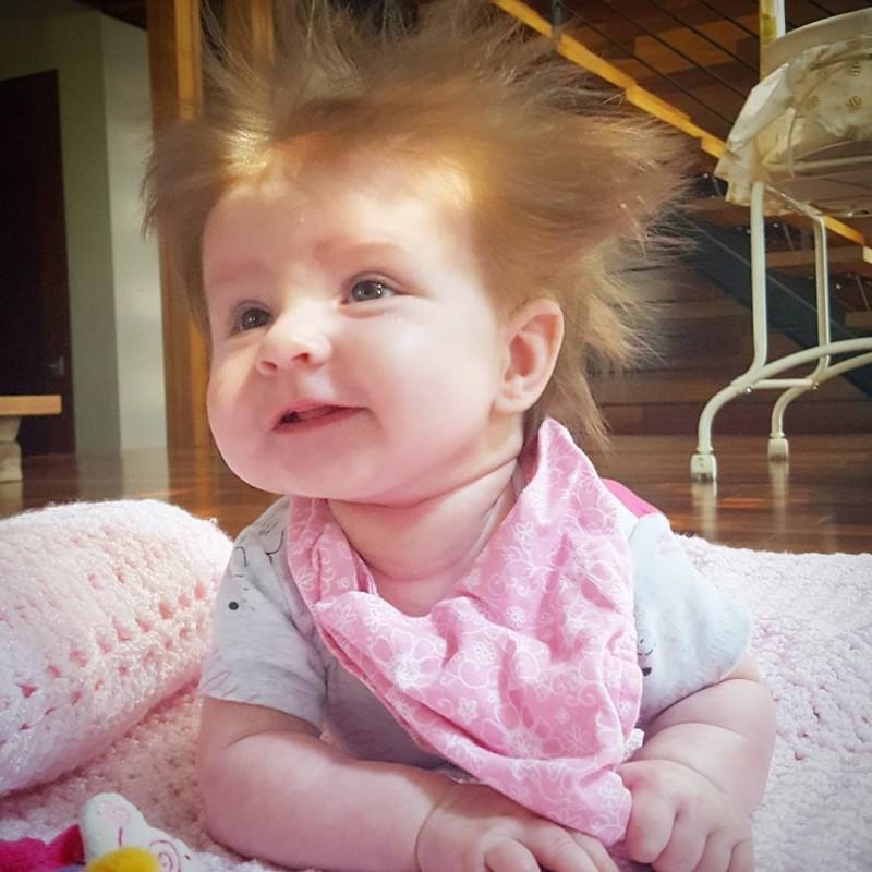 25 Babyköpfe Die Wirklich Eine Haarige Angelegenheit Sind