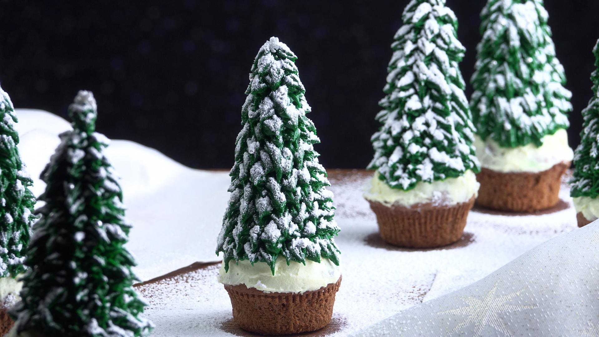 Muffin Tannenbaum.Die Weihnachtsbaum Muffins Sind Ein Aufregendes Muffin Rezept