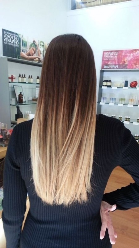 Ohne Friseur Haare Farben Mit Burstentrick