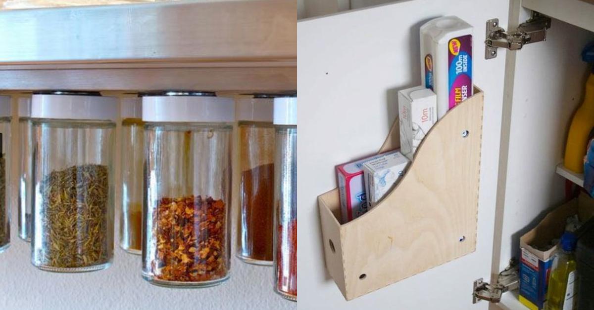 20 Life Hacks, um in der Küche für Ordnung zu sorgen und Platz zu ...