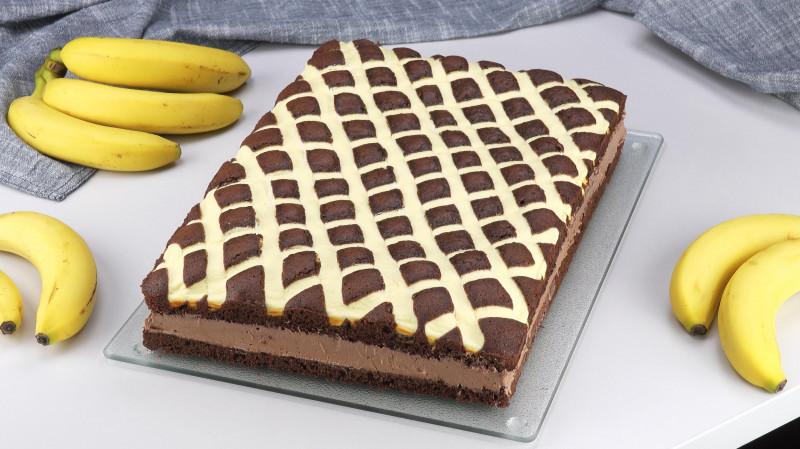 Du Legst 10 Halbe Bananen Auf Den Kuchen Sein Muster Ist Einzigartig