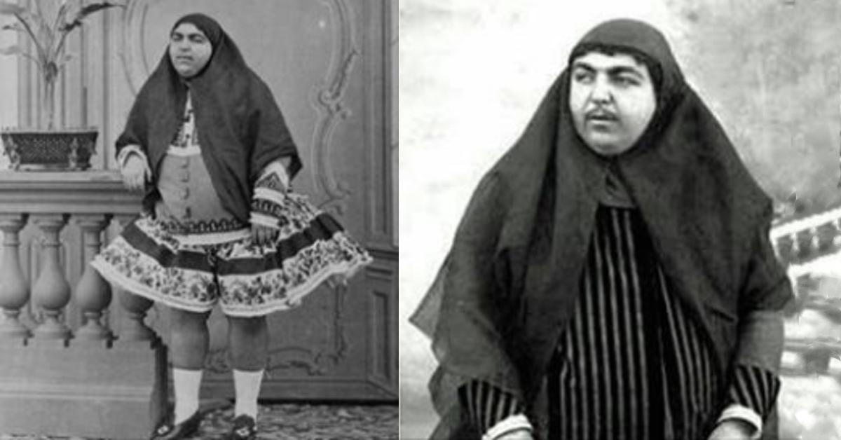 Alte Fotos zeigen persisches Schönheitsideal vor 100 Jahren.
