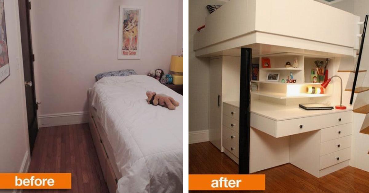 Clevere Einrichtungsideen Fur Kleine Schlafzimmer