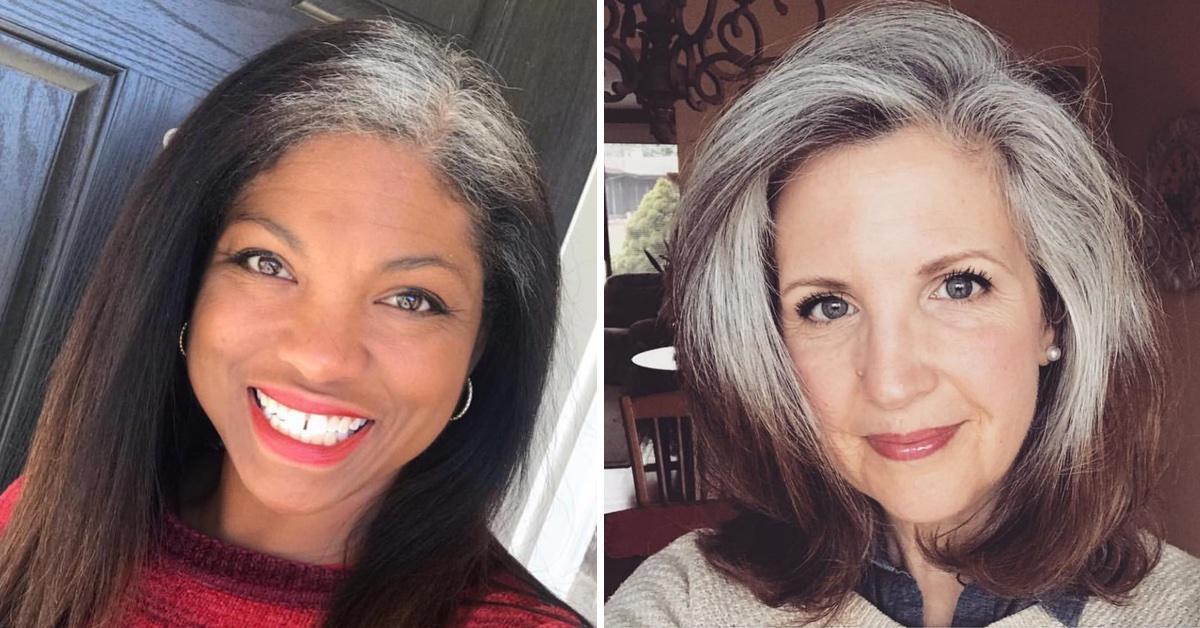 15 Frauen, die ihre grauen Haare nicht mehr färben