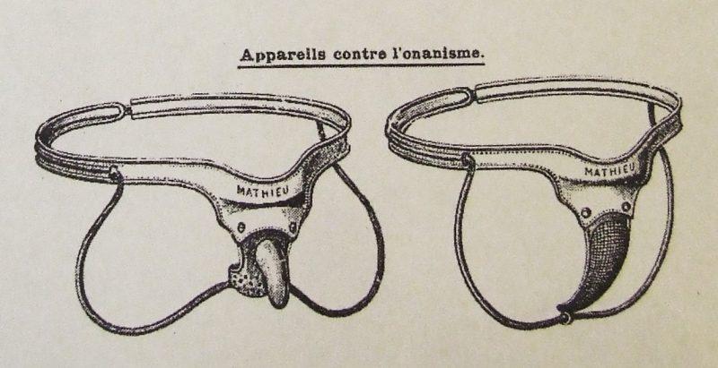 Antimasturbationskorsett